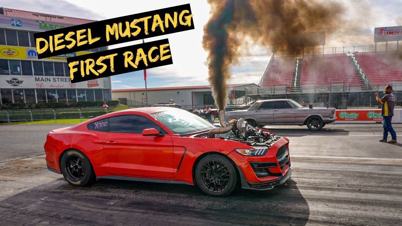 Download First Big Race with The Cummins Mustang