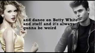 Taylor Swift and Zac Efron Duet about Ellen (Lyrics)