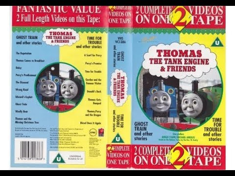 Thomas The Tank Engine & Friends - Ghost Train/Time For Trouble & Other Stories (1995)