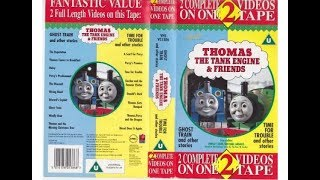 Thomas The Tank Engine & Friends - Ghost Train/Time For Trouble & Other Stories 1995