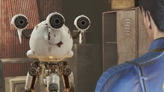Robot and Human Love in Fallout 4