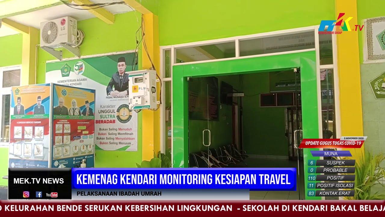 Kemenag Kendari Monitoring Kesiapan Travel Pelaksanaan Ibadah Umrah