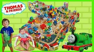 Томас Лего Дупло Місто Іграшка Трек З Персі