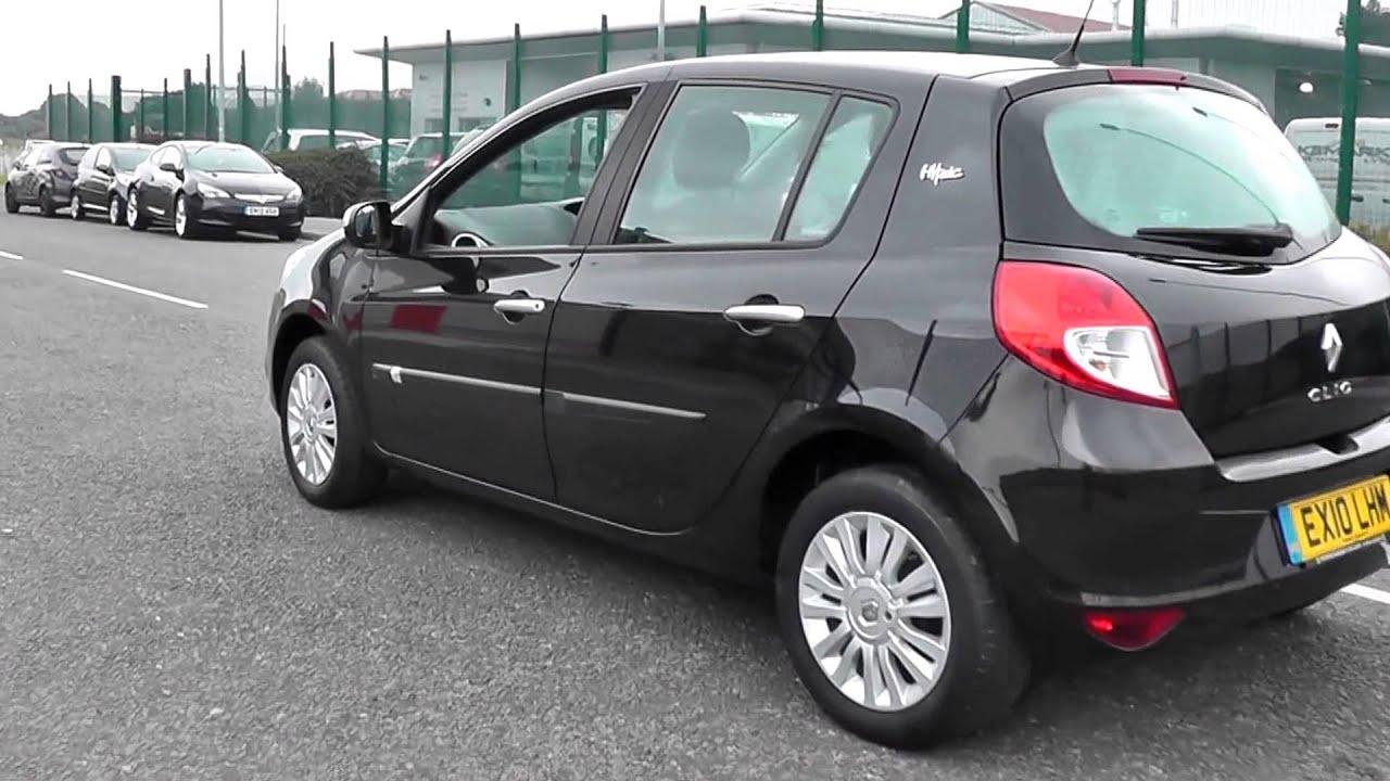2010 Renault Clio i-Music 1.2l EX10LHM Black Metallic at ...