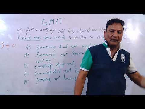 GMAT For MBA BSc BBA , Graduate Management Admission Test, GCU
