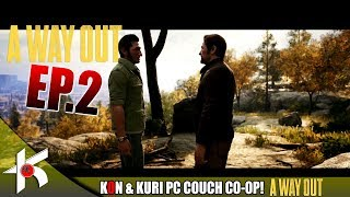 A Way Out | KON and Kuri [Couch Co-op] episode 2