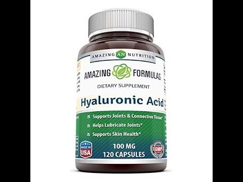 Hyaluronic Acid Benefits Hyaluronic Acid Capsules