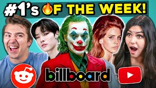 Generations React To 10 Things That Were #1 This Week (Lana Del Rey, Joker, K-Pop)