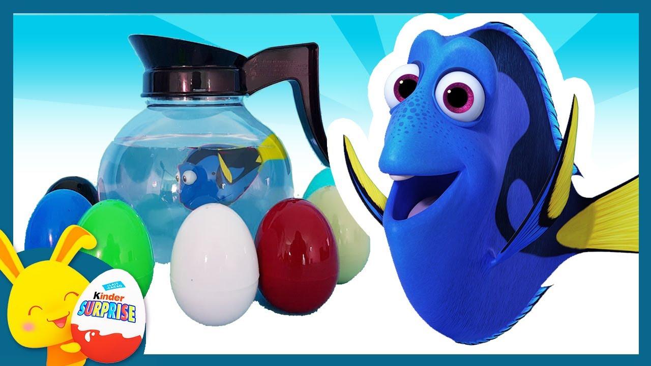 Download Oeufs surprises de couleurs - Le Monde de Nemo et de Dory - Disney - Titounis Touni Toys
