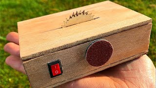 How to make table saw and sander machine 2 in 1 DIY Video