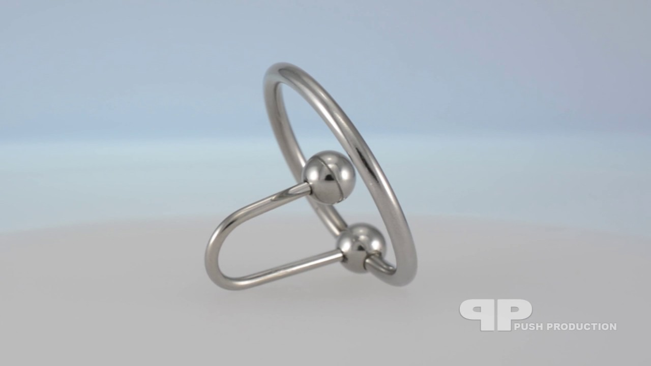 Stainless steel cock ring sperm stopper penis plugsound ultra strong uk stock
