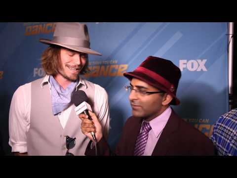 Exclusive  With Christopher Backus At So You Think You Can Dance 11 Finale