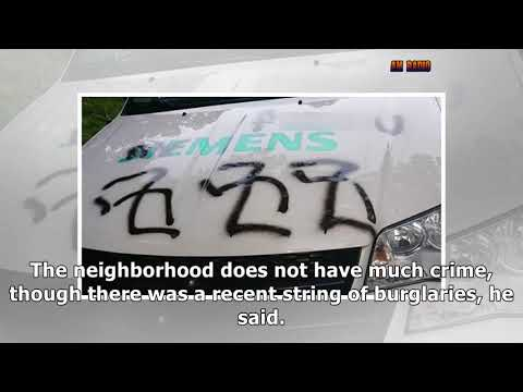 Baltimore County Police Investigate 15 Cars Vandalized With Swastikas, Obscenities In Lochearn