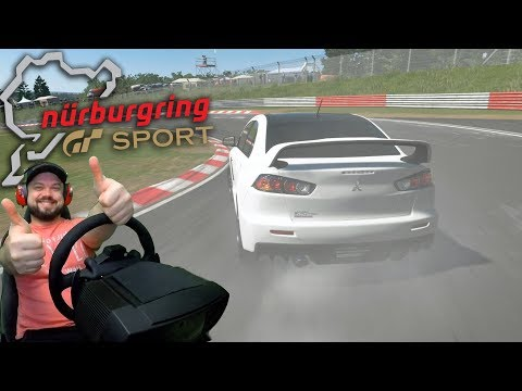 Зелёный АД в равных условиях! Онлайн-гонка на Нюрбургринге в GT Sport thumbnail