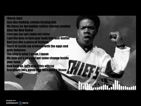 Craig Mack - Flava In Ya Ear - Lyric Video