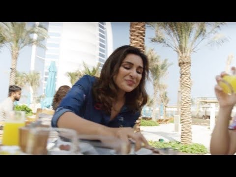 Breakfast in Dubai with Parineeti Chopra
