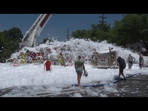Paramus,nj Fire Department Company 4 Triple Wetdown  6/7/15