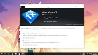 Stardock WindowFX 6 on Windows 10