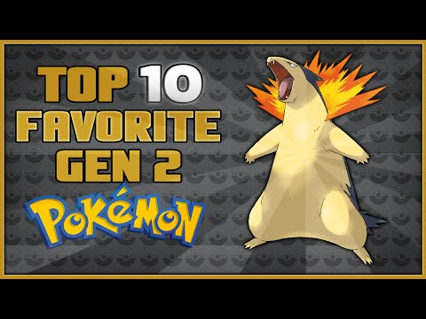 Top 10 Favorite Pokémon in Pokémon Gold and Silver