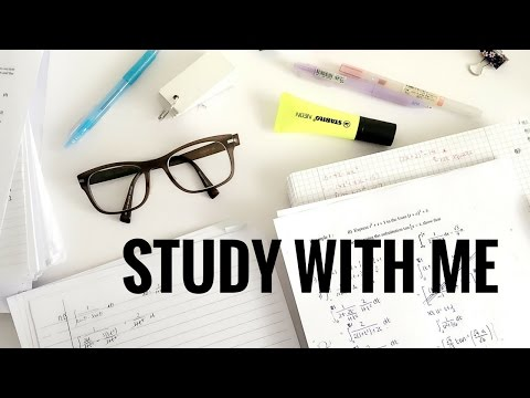 Study With Me (Real Time) | studywithmaggie