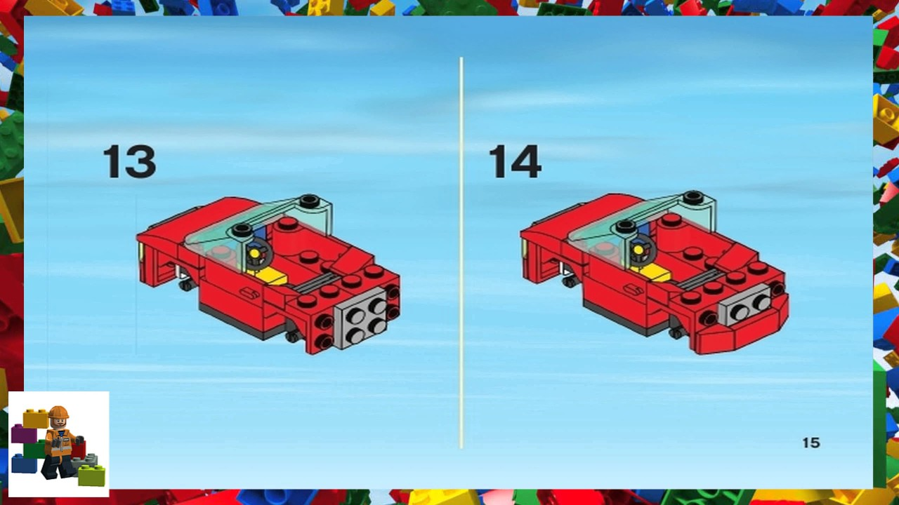 Lego Instructions City Police 7288 Mobile Police Unit Book