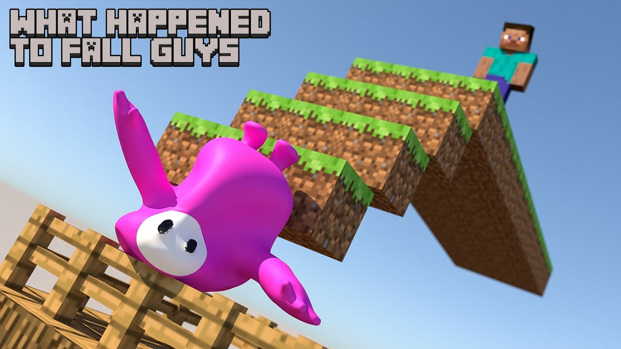 This is what happened to fall guys [Softbody Simulation]