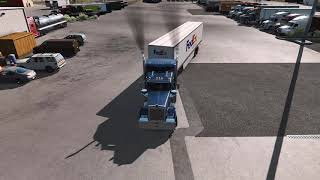 ste es mi primer Mod, donde agregó más camiones en todas las compañías, estaciones de servicio y paradas de camiones. En esta primera versión puedes visitar todos los estados NUEVO MÉXICO, UTAH, OREGON, WASHINGTON. Este mod solo funciona con el juego base