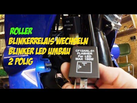 Blinker Relais Blinkerrelais 4 Takt China Roller 3-Pol 3Pin