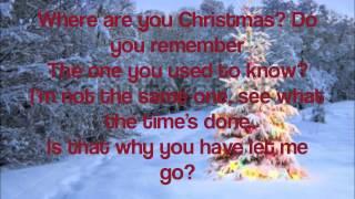 Where Are You Christmas- Faith Hill