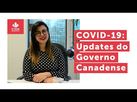 COVID-19: Updates do Governo Canadense