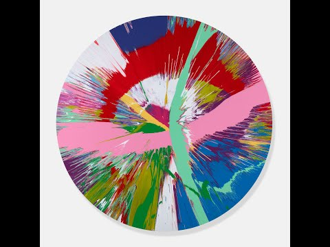 Make Your Own Damien Hirst Spin Painting On Snapchat Using Augmented Reality The National