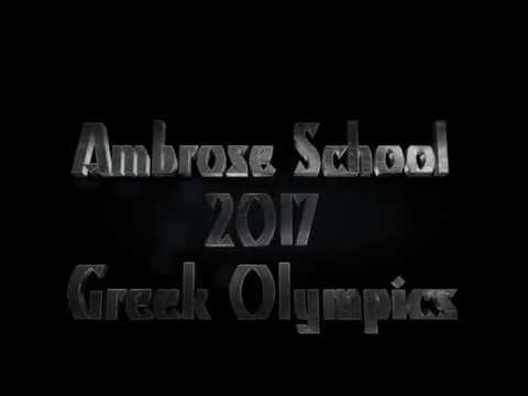 2017 Greek Olympics - The Ambrose School