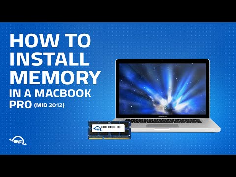 How to Install Memory in a 13-inch MacBook Pro (Mid 2012)