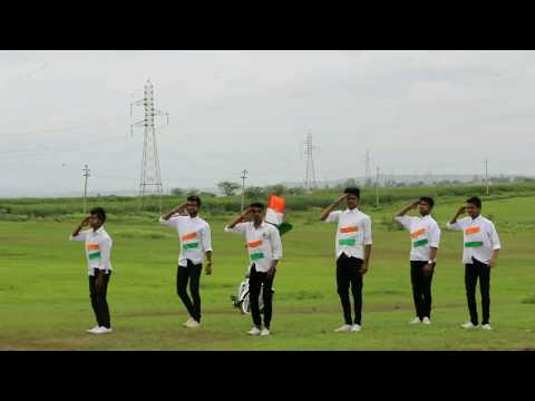 Maa Tujhe Salaam DANCE choreography By Akash kundekar -- ( Vande mataram )