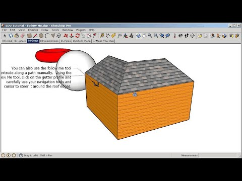 SketchUp Basics for K-12 Education - 6