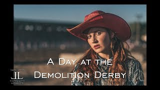 A Day at the Demolition Derby at the Fairgrounds in Scottsbluff, Nebraska using the Sony A9