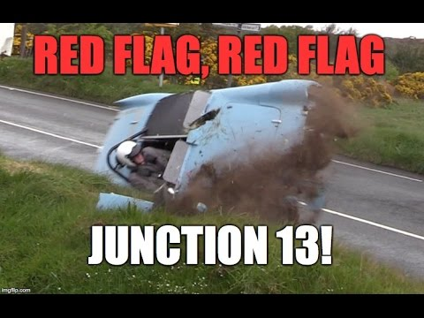Unbelievable smash! Isle of Man TT course