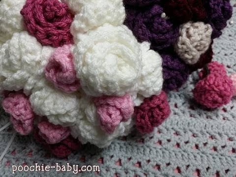 Crochet Flower Bouquet Tutorial Youtube