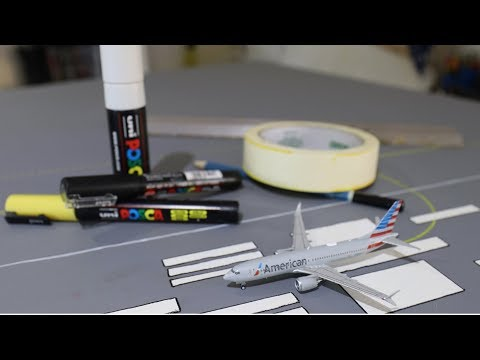 How to build a realistic model airport 2018
