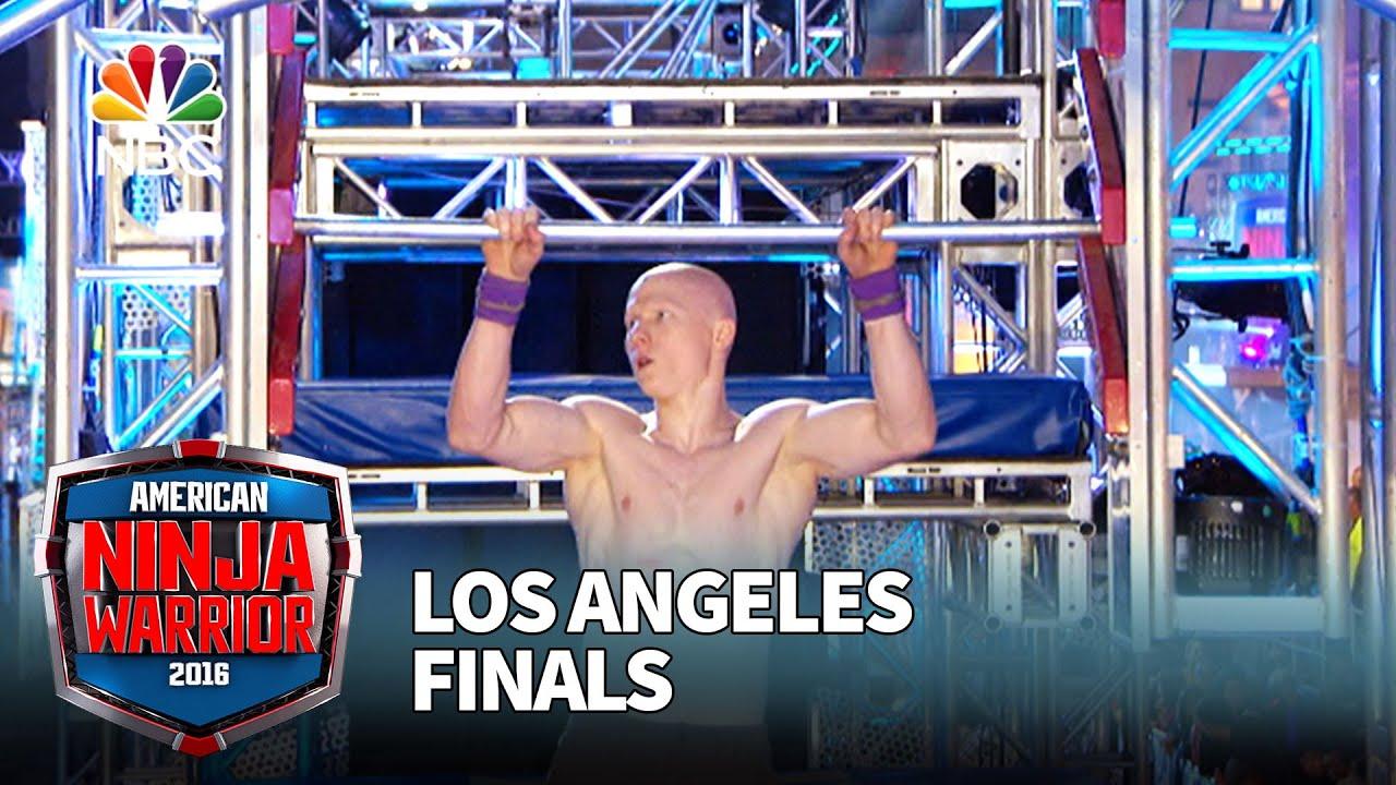 Kevin Bull At The Los Angeles Finals American Ninja