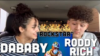 🔥DaBaby – ROCKSTAR FT RODDY RICCH (REACTION)❗️