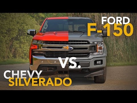 2019 Chevrolet Silverado vs. Ford F-150 Truck Comparison