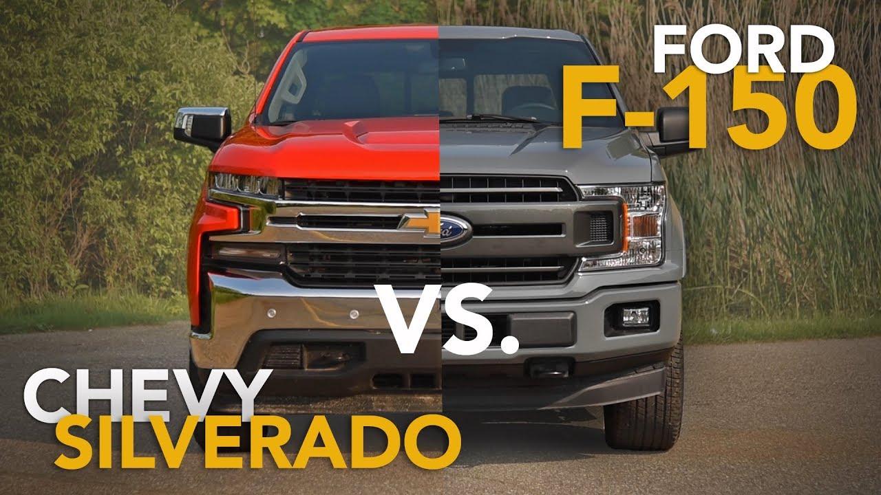 F150 Vs Silverado >> 2019 Chevrolet Silverado Vs Ford F 150 Truck Comparison