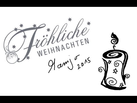 frohe weihnachten eine adventskerze zeichnen tutorial youtube. Black Bedroom Furniture Sets. Home Design Ideas