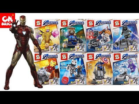 LEGO AVENGERS ENDGAME SETS SY1318 Unofficial Lego (NEW RELEASE)