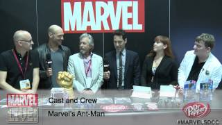 EXCLUSIVE: The Cast and Director of Marvel's Ant-Man Together for the First Time at Comic-Con 2014