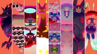 Pokémon Sword & Shield - All Gigantamax Raid Battles (Solo)