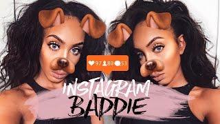 SIMPLE Everyday Makeup | Instagram Baddie Tutorial