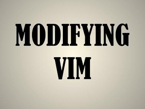 Extras: .vimrc File