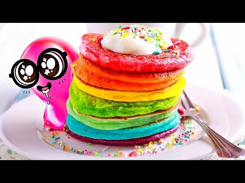 TASTE THE RAINBOW!   Funny Colorful Crafts